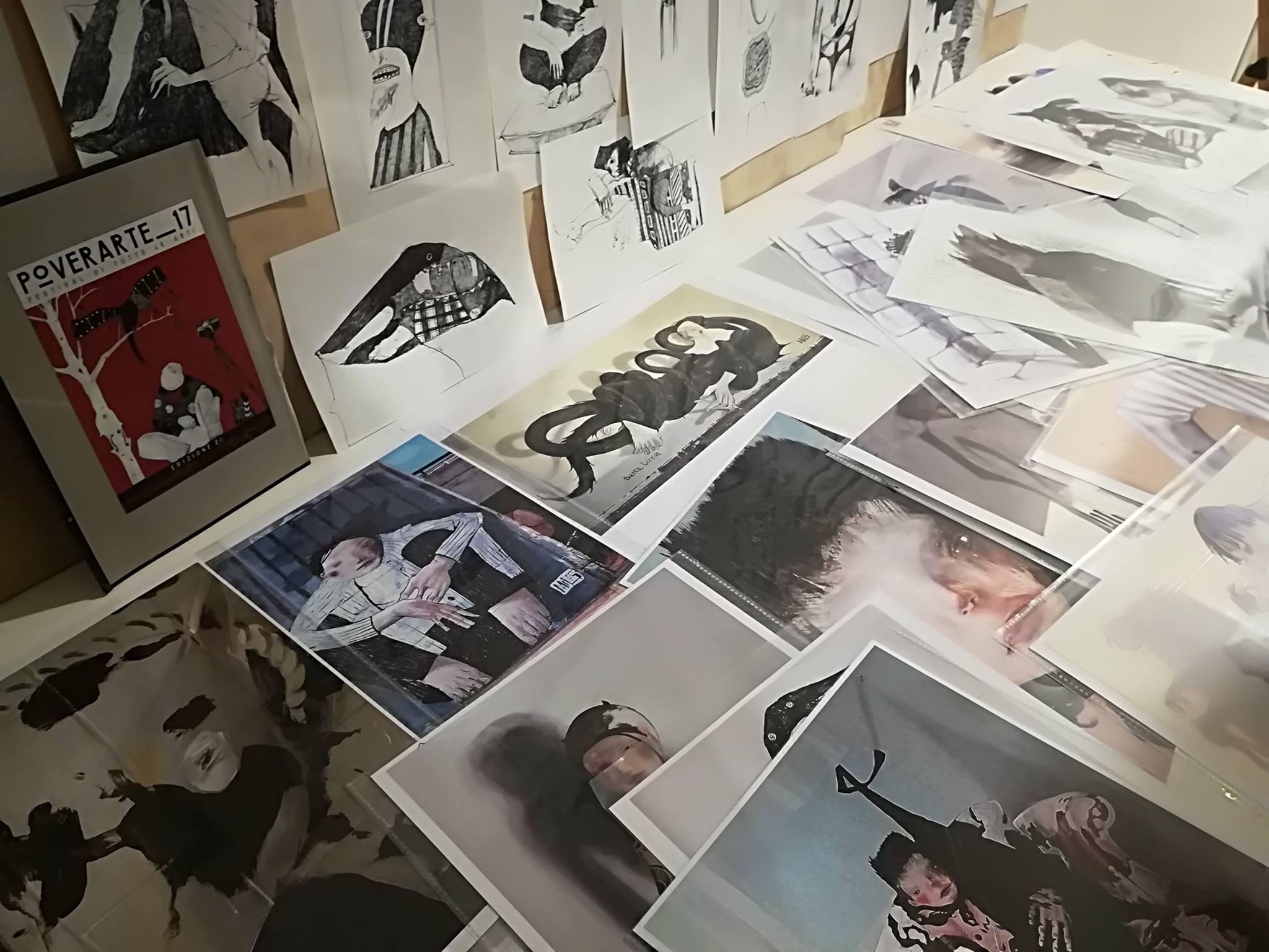 disegni, stampe, incontri con artisti, mostre