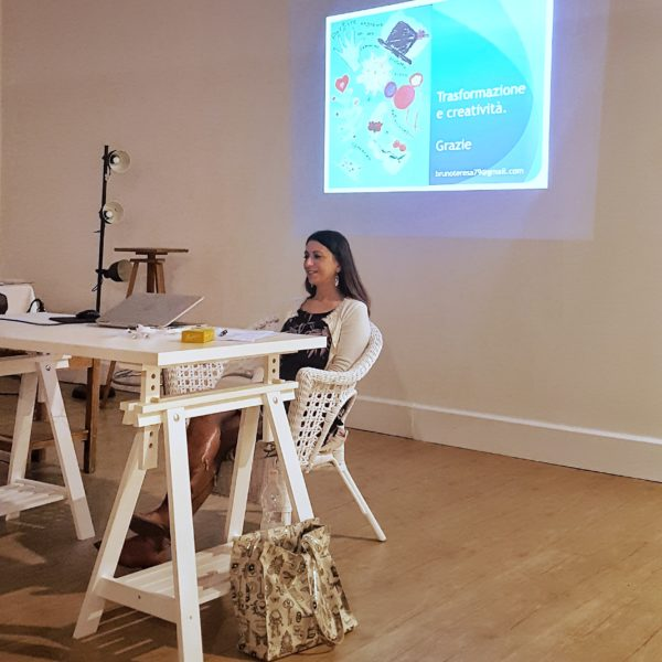 arte etrapia. conferenza. malattia oncologica