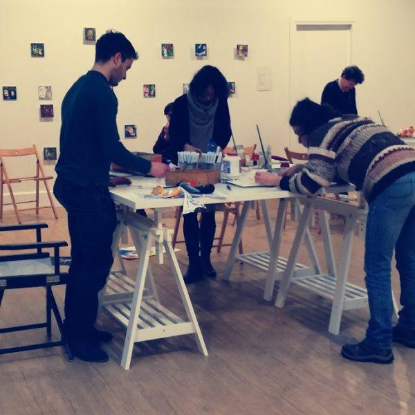 workshop, arte terapia